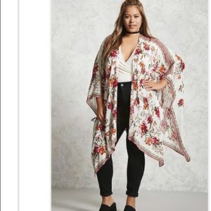 Floral kimono Sz 2(14/16)